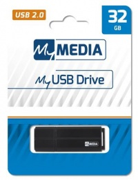 Pendrive, 32GB, USB 2.0, MYMEDIA